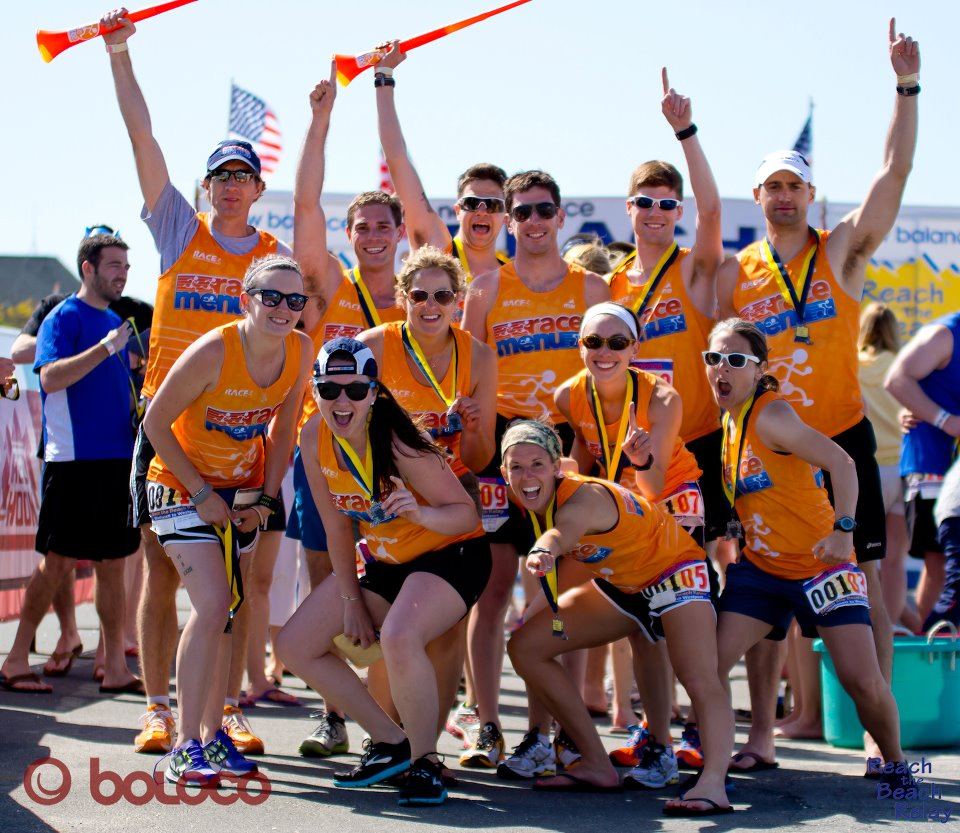 Team RaceMenu at Reach the Beach: MA 2012